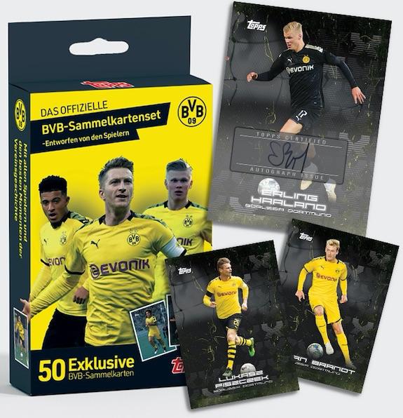 2020 Topps x BVB Borussia Dortmund Soccer Cards 1