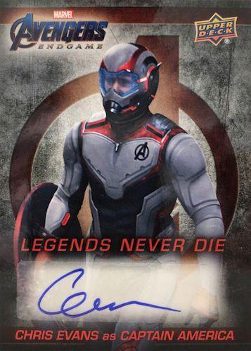 2020 Upper Deck Avengers Endgame & Captain Marvel Movie Trading Cards 6