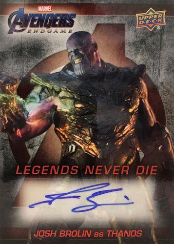 2020 Upper Deck Avengers Endgame & Captain Marvel Movie Trading Cards 4