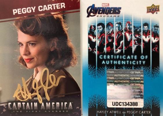 2020 Upper Deck Avengers Endgame & Captain Marvel Movie Trading Cards 5