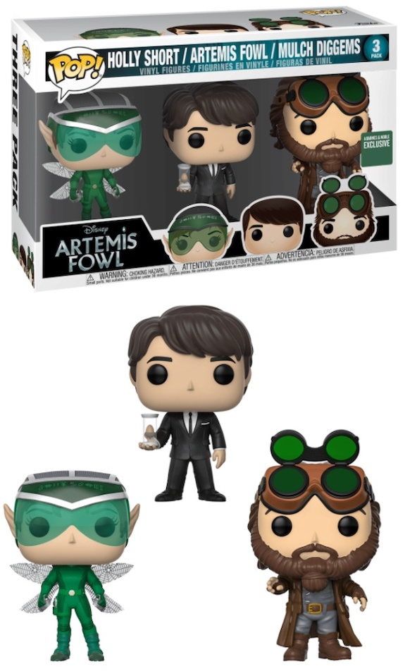 Funko Pop Artemis Fowl Figures 6
