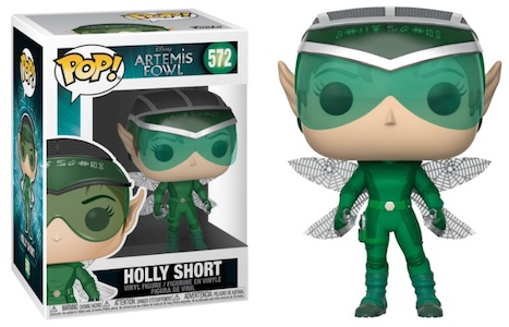 Funko Pop Artemis Fowl Figures 3