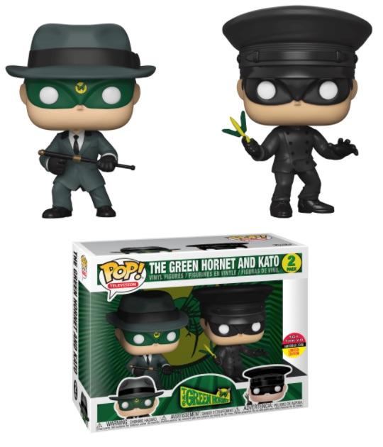 Funko Pop Green Hornet Figures 3