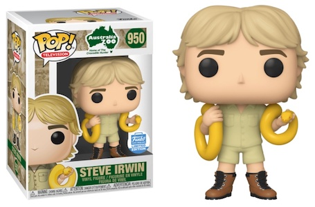 Funko Pop Steve Irwin Figures 3