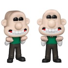 Funko Pop Wallace and Gromit Figures