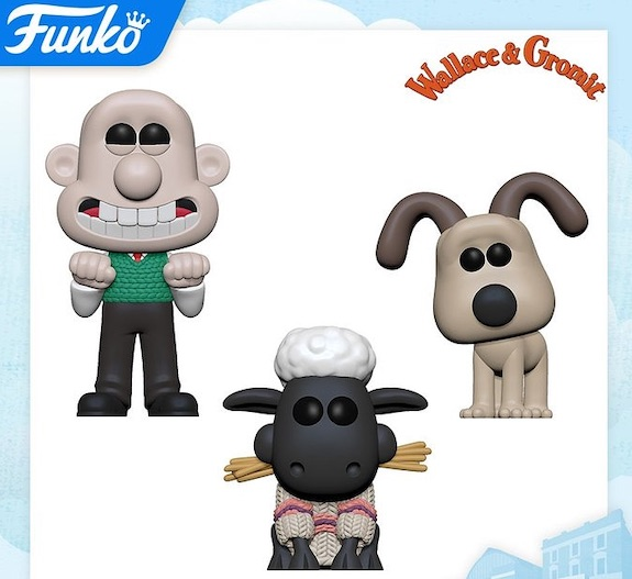 Funko Pop Wallace and Gromit Figures 1