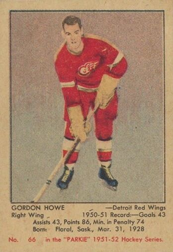 Top 10 Gordie Howe Cards of All-Time 1