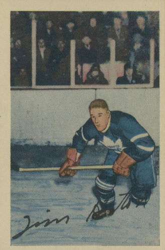 1952-53 Parkhurst Hockey Cards 1