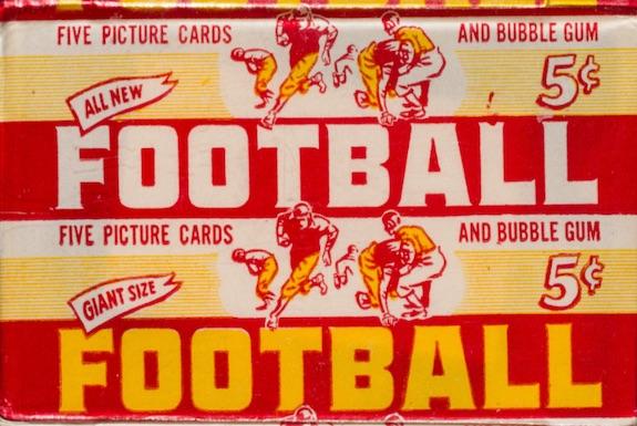 1952 Bowman Large Football Cards 3