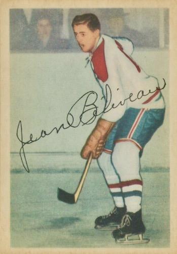 1953-54 Parkhurst Hockey Cards 1