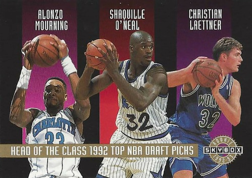Shaquille O'Neal Rookie Card Checklist and Gallery 17