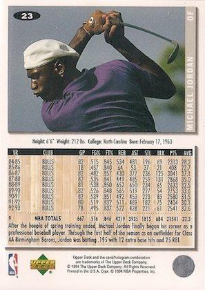 Ultimate Michael Jordan Baseball Cards Guide 13