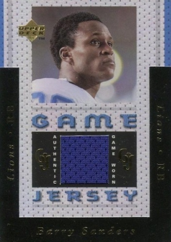 Top Barry Sanders Cards of All-Time 12