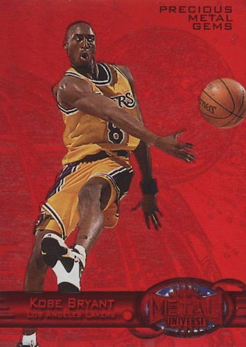 1997-98 Skybox Metal Universe Basketball Cards 4
