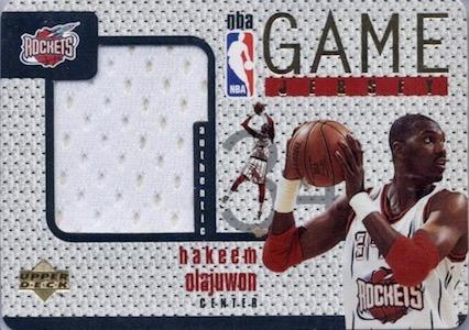 Top Hakeem Olajuwon Cards of All-Time 10