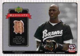 Ultimate Michael Jordan Baseball Cards Guide 35