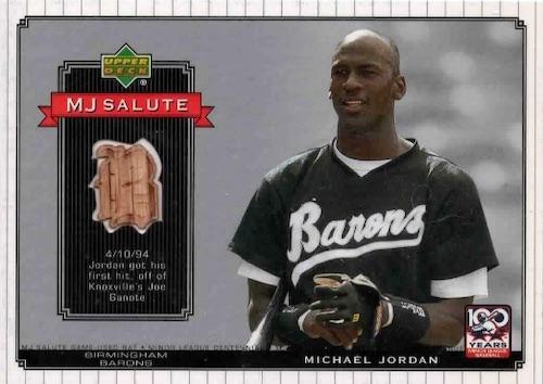 Ultimate Michael Jordan Baseball Cards Guide 33