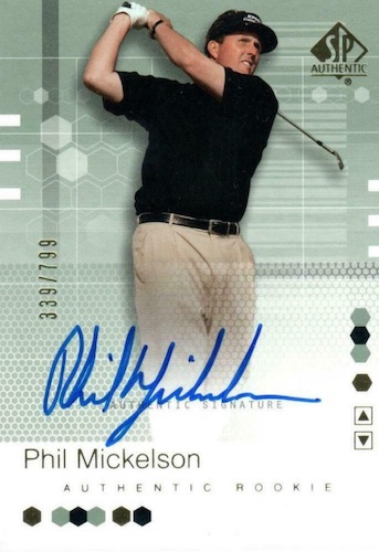 Top Phil Mickelson Cards to Collect 1