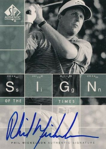 Top Phil Mickelson Cards to Collect 2