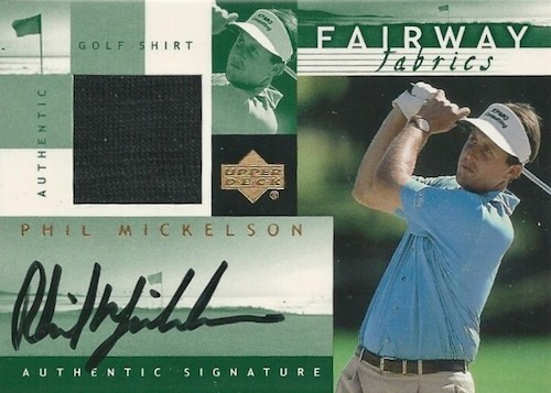 Top Phil Mickelson Cards to Collect 10