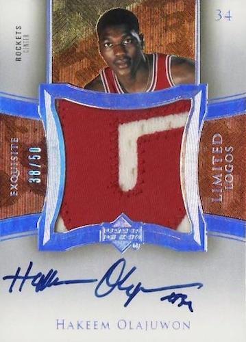 Top Hakeem Olajuwon Cards of All-Time 11