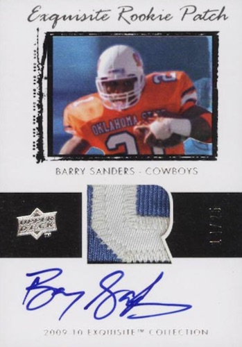 Top Barry Sanders Cards of All-Time 18