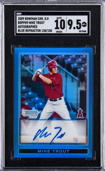 Gone Fishin' for the Top Mike Trout Card Sales of 2020 5