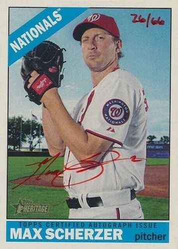 Top Max Scherzer Cards to Collect 4