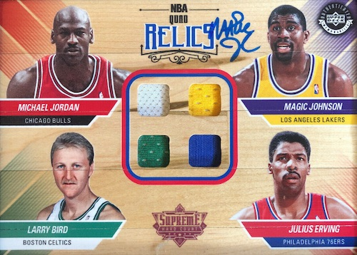 2018 Upper Deck Authenticated NBA Supreme Hard Court Basketball 9