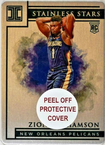 Top Zion Williamson Rookie Cards to Collect 11