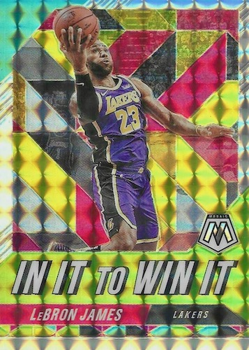 2019-20 Panini Mosaic Basketball Cards 19