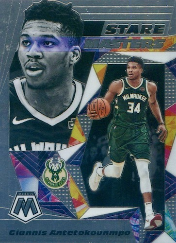 2019-20 Panini Mosaic Basketball Cards 27