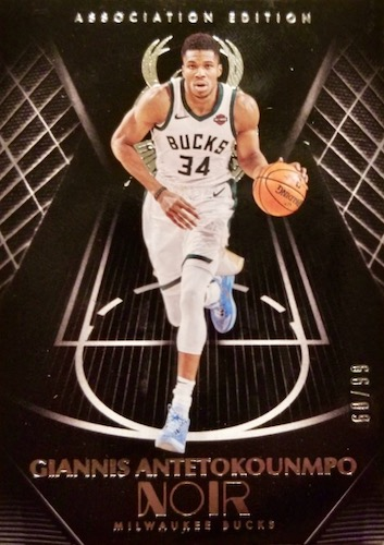 2019-20 Panini Noir Basketball Cards 9