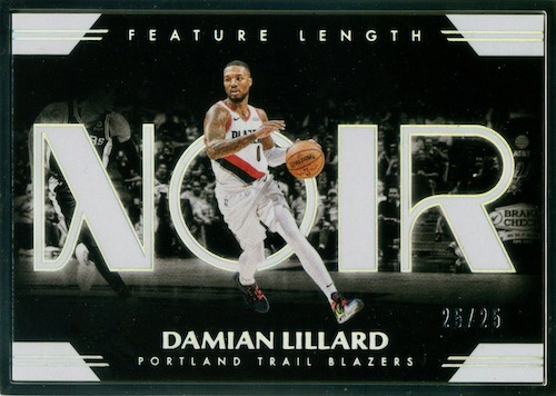 2019-20 Panini Noir Basketball Cards 10