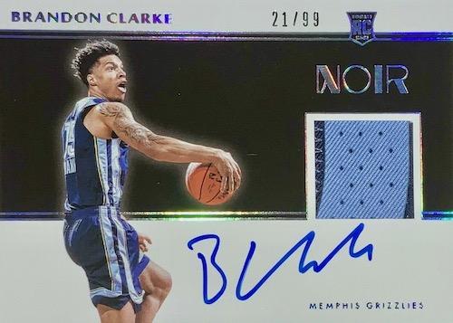 2019-20 Panini Noir Basketball Cards 12