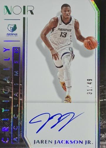 2019-20 Panini Noir Basketball Cards 15