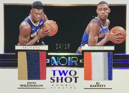 2019-20 Panini Noir Basketball Cards 25