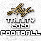 2020 Leaf Trinity Football Cards