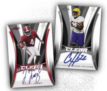 2020 Leaf Trinity Football Cards 1
