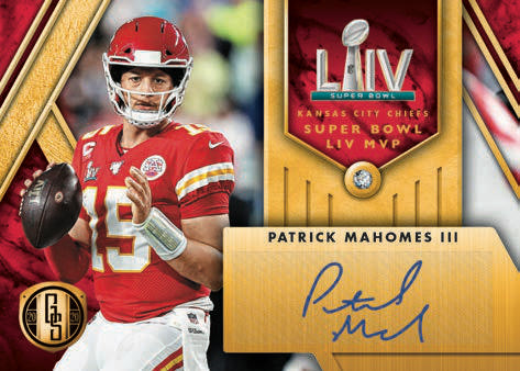 2020 Panini Gold Standard Football Cards 6