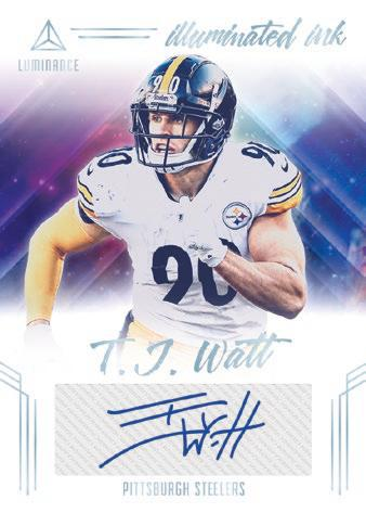 2020 Panini Luminance Football Cards - Checklist Added 5