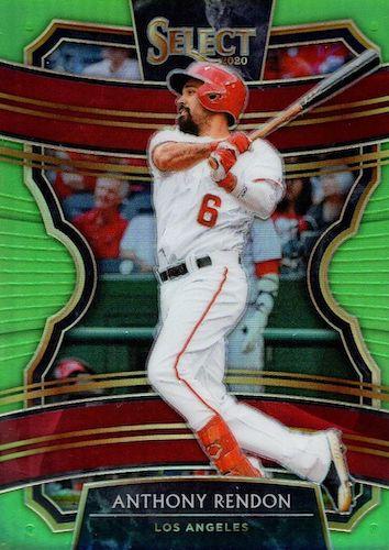 2020 Panini Select Baseball Cards 12
