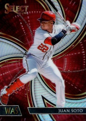 2020 Panini Select Baseball Cards 23