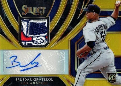 2020 Panini Select Baseball Cards 16
