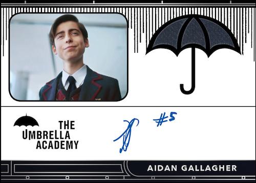 2020 Rittenhouse Umbrella Academy Season 1 Trading Cards - Collector's Set 7