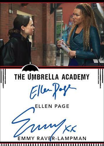 2020 Rittenhouse Umbrella Academy Season 1 Trading Cards - Collector's Set 8
