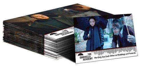 2020 Rittenhouse Umbrella Academy Season 1 Trading Cards - Collector's Set 4