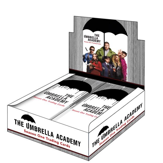 2020 Rittenhouse Umbrella Academy Season 1 Trading Cards - Collector's Set 9