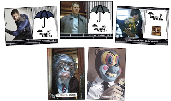 2020 Rittenhouse Umbrella Academy Season 1 Trading Cards - Collector's Set 6