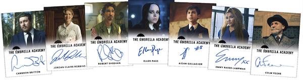 2020 Rittenhouse Umbrella Academy Season 1 Trading Cards - Collector's Set 5